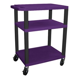 "Colorful Tuffy Utility Cart (34"" H) - Purple"