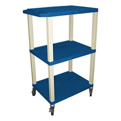 "Colorful Tuffy Utility Cart (42 1/2"" H) - Blue"