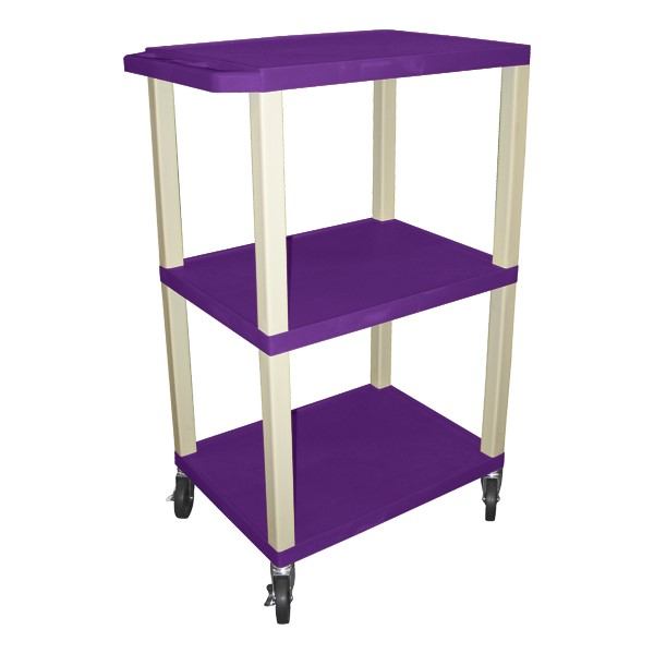 "Colorful Tuffy Utility Cart (42 1/2"" H) - Purple"
