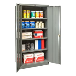 400 Series Storage Cabinet - Gray