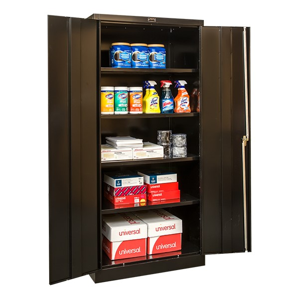 400 Series Storage Cabinet - Black
