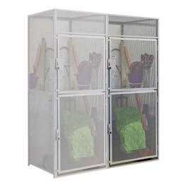 Double-Tier Bulk Storage Locker Adder Unit