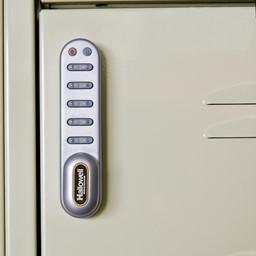 One-Wide Triple-Tier Lockers w/ Electronic Lock