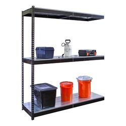 Rivetwell Boltless Shelving w/ Steel Deck - Adder Unit