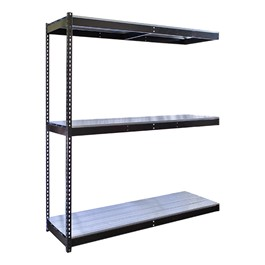 Rivetwell Boltless Shelving w/ Steel Deck - Adder Unit