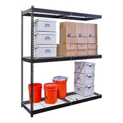 Rivetwell Boltless Shelving w/ Wire Deck - Adder Unit