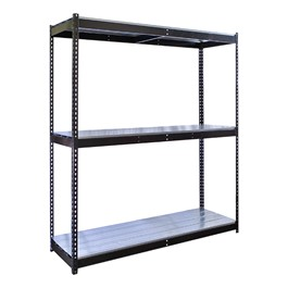 Rivetwell Boltless Shelving w/ Steel Deck - Starter Unit