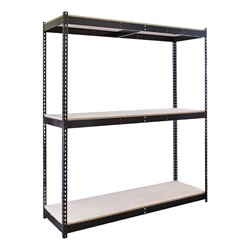 Rivetwell Boltless Shelving w/ Particleboard Deck - Starter Unit