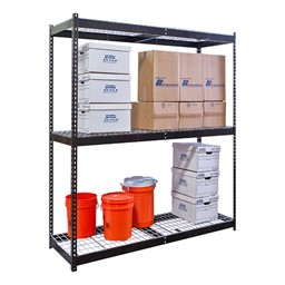 Rivetwell Boltless Shelving w/ Wire Deck - Starter Unit