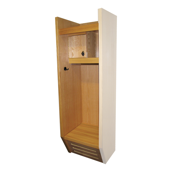 Hallowell Recruiter Wood Sports Locker