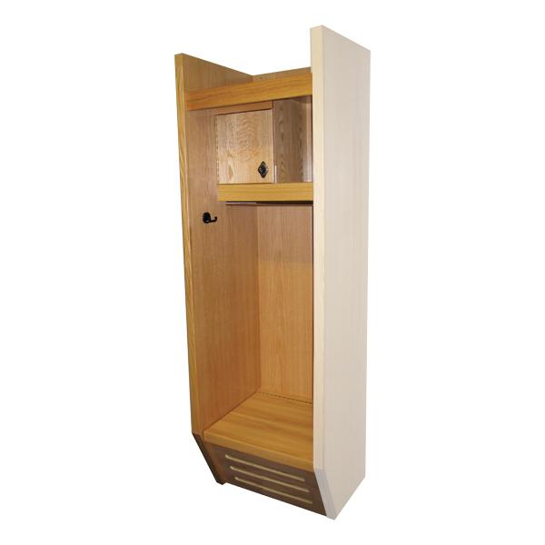 Hallowell Recruiter Wood Sports Locker
