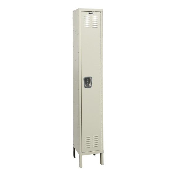 Hallowell Premium One Wide Single Tier Locker Assembled 18 W X 21 D X 72 H Opening At School Outfitters
