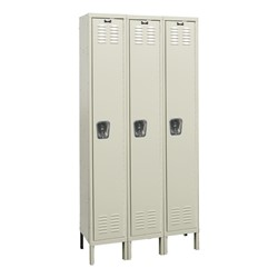 Premium Three-Wide Single-Tier Lockers
