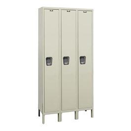 Maintenance-Free Quiet Three-Wide Single-Tier Locker