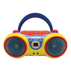 Kids Audio CD Player Karaoke Machine w/ Microphone - Front
