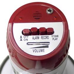 15-Watt Megaphone - Controls