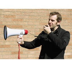 15-Watt Megaphone - In Use