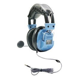 Deluxe Headset w/ Gooseneck Mic & TRRS Plug