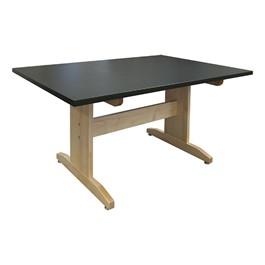 """Art Table w/ Black Laminate Top (42\"""" W x 60\"""" L)"""