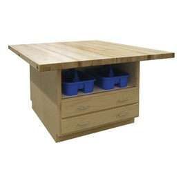 Art Workstation w/ Tote Caddy Base