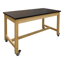 Makerspace Mobile Project Worktable - Laminate Top