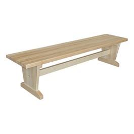 Hardwood Student Bench
