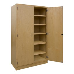 Makerspace Project Storage Cabinet