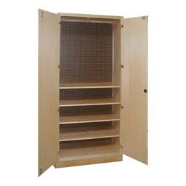 Tool Storage Cabinet w/ Four Adjustable Shelves
