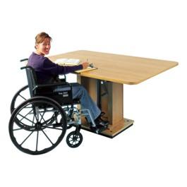 "Hand Crank Hydraulic Work Table (36\"" x 60\"")"