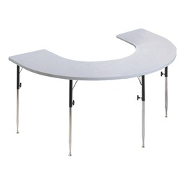 Horseshoe Knob-Adjusted Therapy Table