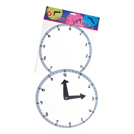 Blank Clock Kit - Pack of 24
