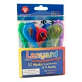 Translucent Lanyard Hanks - Assorted Colors