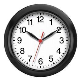 "8\"" Plastic Cubicle Wall Clock"