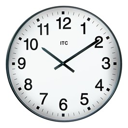 "19"" Oversized Plastic Wall Clock"