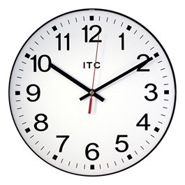 "12"" Basic Plastic Wall Clock"