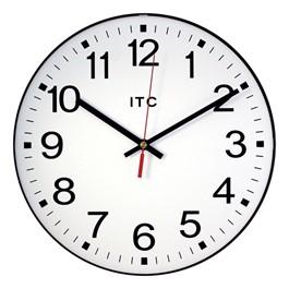 "12\"" Basic Plastic Wall Clock"