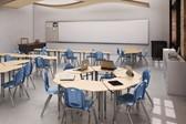 Collaborative K-12 classroom.