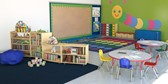 Early learning classroom.