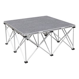 "Camera Riser - Single Carpet Deck Platform & Base (4\' L x 4\' D x 16"" H)"