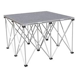 Camera Riser - Single Carpet Deck Platform & Base (4\' L x 4\' D x 2\' H)