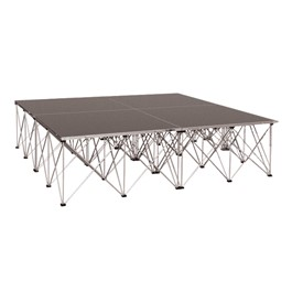 Drum Riser System Package -  Carpet Deck (6\' L x 6\' D x 2\' H)