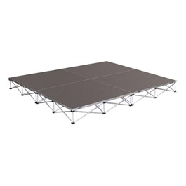 "Drum Riser System Package - Carpet Deck (8\' L x 8\' D x 8"" H)"