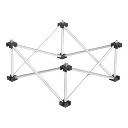 "3\' x 3\' Triangle Platform Base (8"" H)"