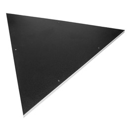 4\' x 4\' Triangle Stage Platform - Tuffcoat Deck