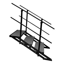 """101 Series Stage Step Package w/ Industrial Deck - Three Step (For use w/ 24\"""" or 32\"""" H Units)"""