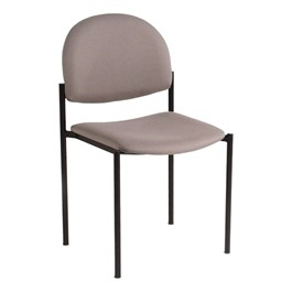 200 Series Waiting Room Stack Chair w/out Arm Rests - Pearl