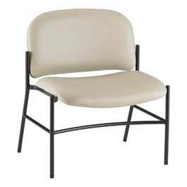 Bariatric Waiting Room Chair w/out Arm Rests - Alabaster