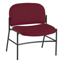 Bariatric Waiting Room Chair w/out Arm Rests - Port