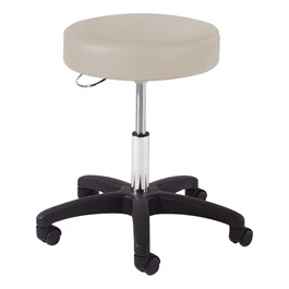 970 Series Exam Stool w/ D-Ring Hand Adjustment - Black Composite Base
