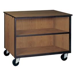 Adjustable-Shelf Storage Cabinet w/out Doors - Reinforced Frame